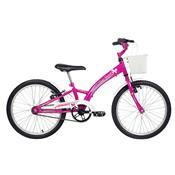 Bicicleta Feminina Smart Aro 20 Pink E Branca Verden Bikes