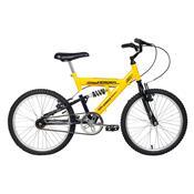 Bicicleta Masculina Eagle Aro 20 Amarela E Preta Verden Bikes