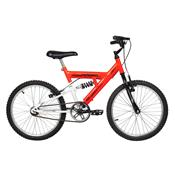 Bicicleta Masculina Eagle Aro 20 Laranja E Branca Verden Bikes