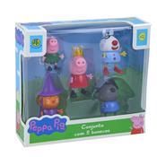 Conjunto Com 5 Bonecos Amigos Da Peppa Pig Dtc