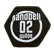 Sandbell 2 Kg Para Treinamento Funcional Neoprene Preto Acte