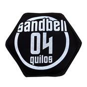 Sandbell 4 Kg Para Treinamento Funcional Neoprene Preto Acte
