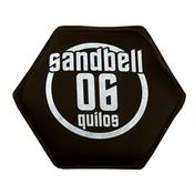 Sandbell 6 Kg Para Treinamento Funcional Neoprene Preto Acte