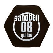 Sandbell 8 Kg Para Treinamento Funcional Neoprene Preto Acte