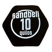 Sandbell 10 Kg Para Treinamento Funcional Neoprene Preto Acte