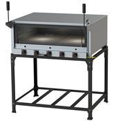 Forno De Pizza Industrial À Gás Refratário 95X80cm Itajobi