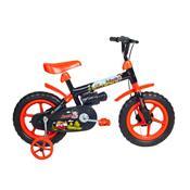 Bicicleta Infantil Jack Aro 12 Preta E Laranja Verden Bike