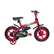 Bicicleta Infantil Jack Aro 12 Vermelho E Preto Verden Bike