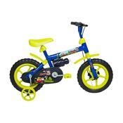Bicicleta Infantil Jack Aro 12 Azul E Verde Limão Verden Bike