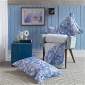 Cobre Leito Casal Azul 220X245cm Elisa Home Design Santista