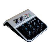 Mesa De Som 4 Canais Usb Sd Bivolt Mix02-1A Boxx
