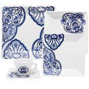 Aparelho De Jantar 30 Peças Porcelana Cashemere Gm30-2460 Oxford