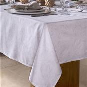 Toalha De Mesa Home Design Quadrada 160X160cm Aura Branca Santista