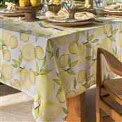 Toalha De Mesa Home Design Quadrada 160X160cm Limone Amarela Santista