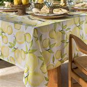 Toalha De Mesa Home Design Retangular 160X210cm Limone Amarela Santista