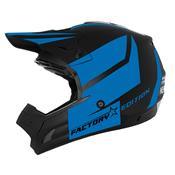 Capacete Cross Th1 Factory Edition Neon Miami Blue Pro Tork