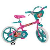 Bicicleta Infantil Aro 14 Elena De Avalor Disney Bandeirante
