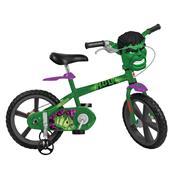 Bicicleta Infantil Aro 14 Hulk Bandeirante