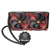 Water Cooler Thermaltake 140Mm 3.0 Riing All-In-One Lcs Cl-W138-Pl14re-A