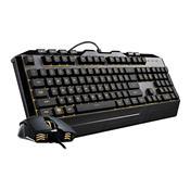 Kit Teclado E Mouse Cooler Master Devastator Gb3000kkmf1br3 Led Rgb S