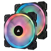 Cooler Fan Corsair Ll Series 140Mm Led Rgb 2 Unidades Co-9050074-Ww