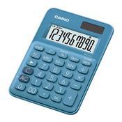 Calculadora De Mesa Casio Ms7ucbun 8 Dígitos Azul