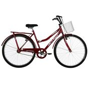 Bicicleta Aro 26 Ultra Bikes Tropical Summer V-Break Vermelha