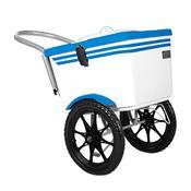 Carrinho De Picolé Thermototal T2001 54 Litros Branco E Azul