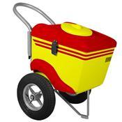 Carrinho De Picolé Thermototal T375 60 Litros Amarelo E Vermelho