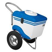 Carrinho De Picolé Thermototal T375 60 Litros Branco E Azul