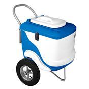Carrinho De Picolé Thermototal L450 90 Litros Branco E Azul