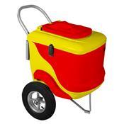 Carrinho De Picolé Thermototal L450 90 Litros Vermelho E Amarelo