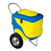Carrinho De Picolé Thermototal L450 90 Litros Amarelo E Azul