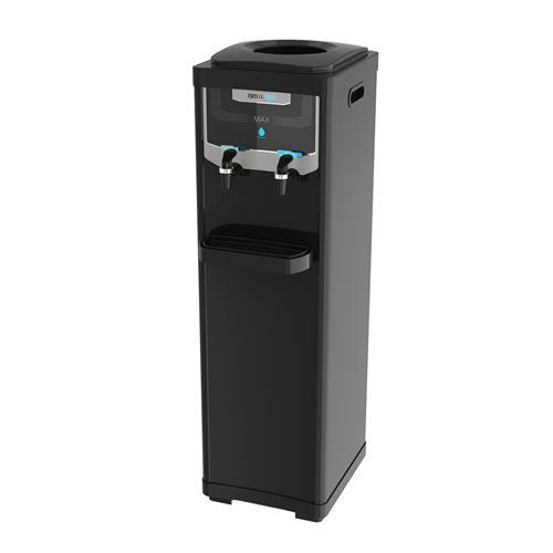 Bebedouro De Coluna Elétrico Newup Max Black Refrigerado Preto