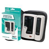 Testador Digital De Cabos De Rede Mxt Ns-468-B Branco