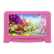 Tablet Multilaser Kid Pad Plus Android 7.0 Quad Core 8Gb 7Pol Rosa