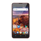Smartphone Multilaser Ms50l Android 7.0 Quad Core 3G 8Gb 5Pol Preto/Vermelho
