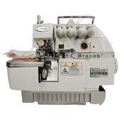 Máquina De Costura Industrial Overlock Bracob Bc74 2 Agulhas Bivolt