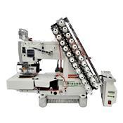 Máquina De Costura Industrial Bracob 12 Agulhas Ponto Corrente Bivolt