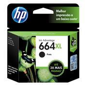 Cartucho De Tinta Hp 664Xl F6v31ab Ink Advantage 8.5 Ml Preto