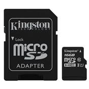Cartão De Memória Micro Sd Kingston Sdhc/16Gb Classe 10 16Gb