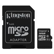 Cartão De Memória Micro Sd Kingston Sdcs/32Gb Classe10 32Gb
