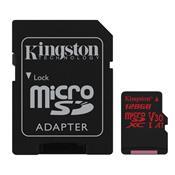 Cartão De Memória Micro Sd Kingston Sdcr/128Gb Canvas React Classe 10 128Gb