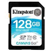 Cartão De Memória Sd Kingston Sdg/128Gb Canvas Go Classe 10 128Gb