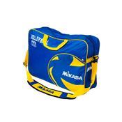 Bolsa Para Bolas De Voleibol Mikasa Vl6b-Bl Nylon Azul E Amarelo