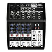 Mesa De Som Pro Bass Pl-804 Entrada Usb Bivolt 8 Canais