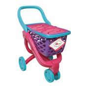 Carrinho De Compras Infantil Fun Little Mommy Com Acessórios Rosa