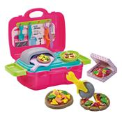 Kit De Massinha Barbie Fun Pizzaria Divertida