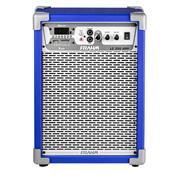 Caixa De Som Amplificada Frahm Multiuso Lc 350 App 80W Rms Azul