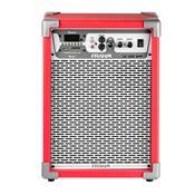 Caixa De Som Amplificada Frahm Multiuso Lc 350 App 80W Vermelha